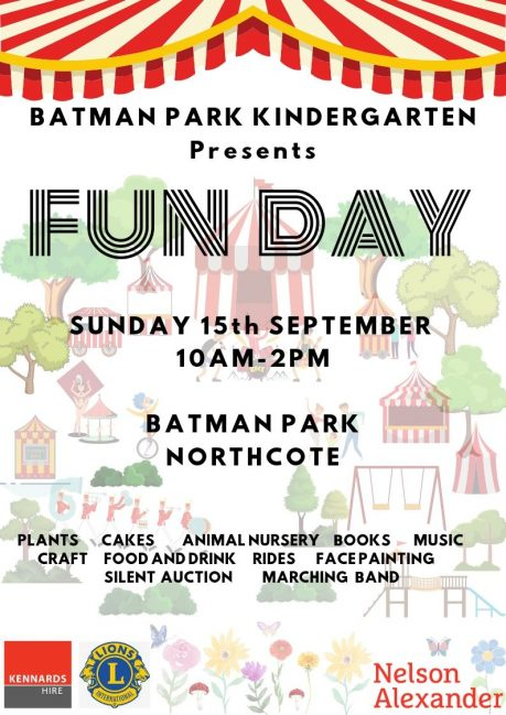 Batman Park Kindergarten Family Fun Day 2019
